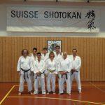 2014 - SSK Event Berna  - Foto di gruppo di Ticino Shotokan
