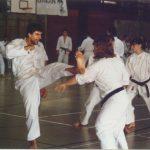 """1994 - Stage Tecnico SSK a Gordola.   Emanuele Schifano: """"Lo vedi questo piede?..."""""""