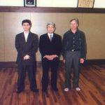 1997 - Graziano Zaccheo ed Alex Guillen con Watanabe Sensei a Waseda Giappone.
