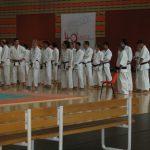 2004 - Anniversario 40 anni France Shotokan.   4. nella seconda fila, Sandan Giorgio Di Resta nel Swiss Team.