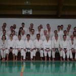 2015 - Foto di gruppo dei partecipanti all'allenamento di Eli Cohen (Godan Israel Shotokan)  tenutosi a Colmar il 14 e 15 marzo 2015.