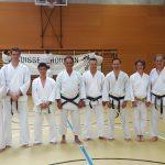 2016 - Membri di Ticino Shotokan Karate con Eli Cohen (5. DAN - Israel Shotokan) durante l'SSK Event tenutosi a Basilea (CH) il 4 e 5 giugno 2016.