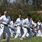 2016 - Dimostrazione di SSK del Kata Tekki Sandan durante i festeggiamenti per i 60 anni di SKA a Santa Barbara