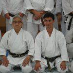 Alex con Watanabe Sensei