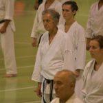 Ivan Scapozza durante un allenamento  alla festa dei 40 anni di Suisse Shotokan Karate (Winterthur - luglio 2017).