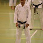 Mirko Togni durante un allenamento  alla festa dei 40 anni di Suisse Shotokan Karate (Winterthur - luglio 2017).
